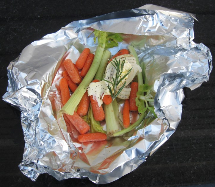 Vegetable Foil Pack