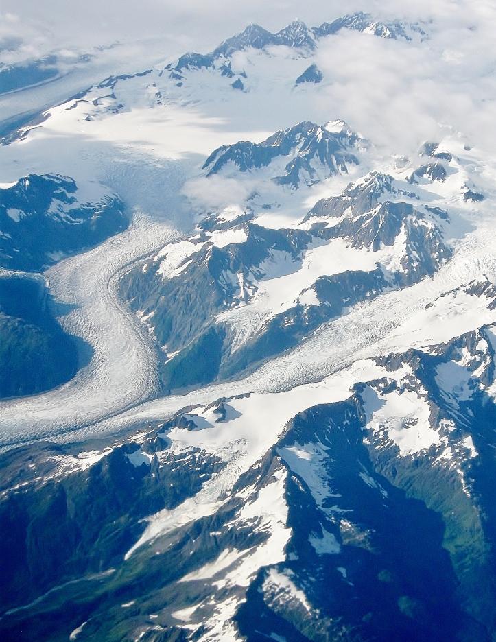 Glacial Field in Alaska