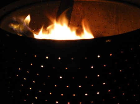 Up-cycled Fire Pit